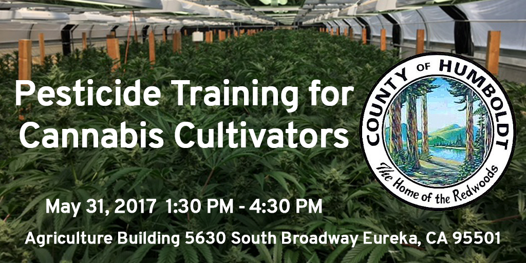 Pesticide Training for Cannabis Cultivators