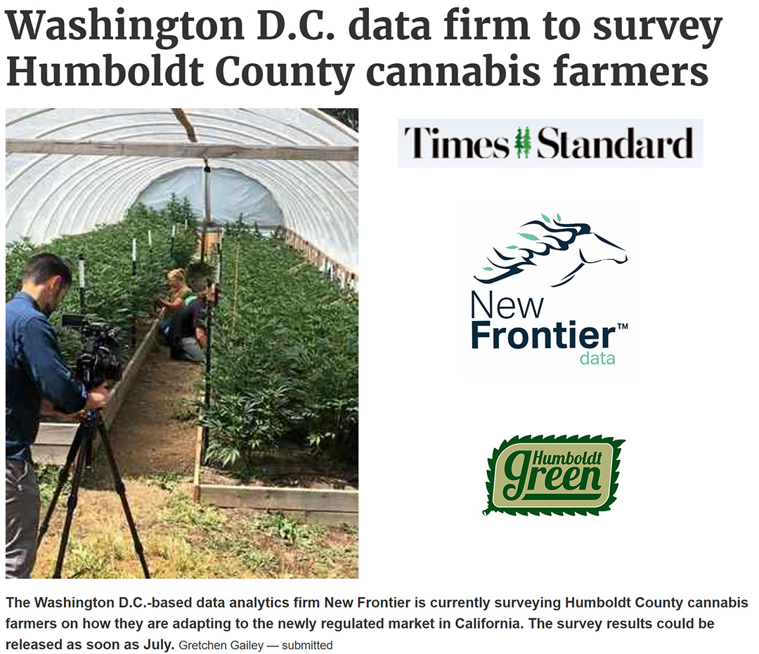Times Standard Screenshot with logos